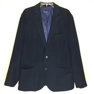 Cremieux Navy 100% Wool Men's Sports Coat